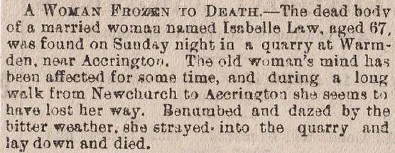 Lancashire – Death On My Doorstep